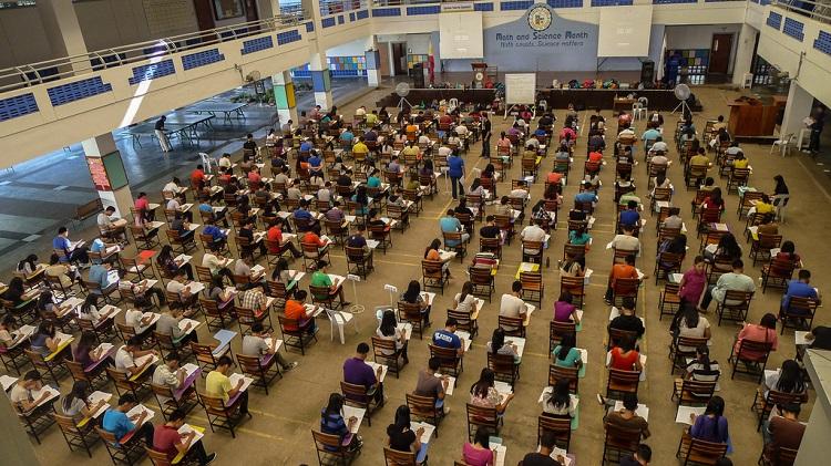 Klausur Prüfungssaal